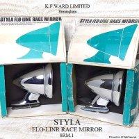 1960's STYLA FLO-LINE RACE MIRROR / レースミラー デッドストック ディスプレイBOX