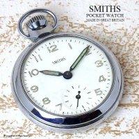 1960's SMITHS 懐中時計 SV/WH GN