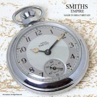 1950's SMITHS EMPIRE 懐中時計 SV/WH GY
