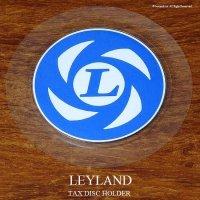 英国製 British Leyland レイランド タックスディスク ホルダー