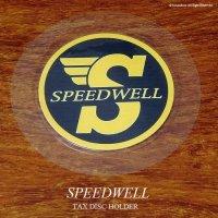 英国製 SPEEDWELL スピードウェル タックスディスク ホルダー