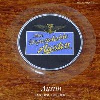英国製 Austin Dependable オースチン タックスディスク ホルダー