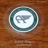 英国製 Austin Flting A オースチン タックスディスク ホルダー