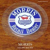 英国製 MORRIS モーリス タックスディスク ホルダー