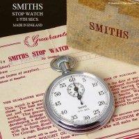1959年 SMITHS/スミス ストップウォッチ 極初期  旧ロゴ ギャランティー・BOX付