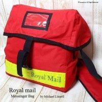 英国 ROYAL MAIL/ロイヤルメール メッセンジャーバッグ スモールタイプ デッドストック未使用