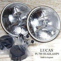 LUCAS PL700 HEADLAMP/ルーカス スリーポイント ヘッドライトSET 復刻モデル
