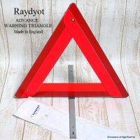 当時物 Raydyot ADVANCE WARNING TRIANGLE/レイヨット 三角表示板
