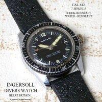 1960-70年英国  INGERSOLL DIVERS TROPIC STRAP/インガーソル ダイバーズウォッチ トロピック ベルト 腕時計