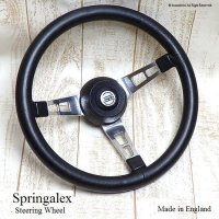 Springalex Steering Wheel Full Set/ スプリンガレックス ステアリング 48スプライン ミニ用 フルセット