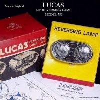 超貴重!当時物 LUCAS L785 REVERSING LAMP/ルーカス リバーシングランプ デッドストック BOX付