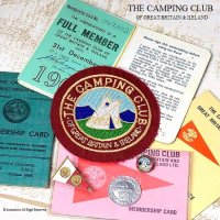 貴重!当時物 THE CAMPING CLUB OF GREAT BRITAIN Colection