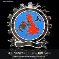 貴重!Vintage THE VESPA CLUB OF BRITAIN ベスパ クラブ エンブレム COGバッジ