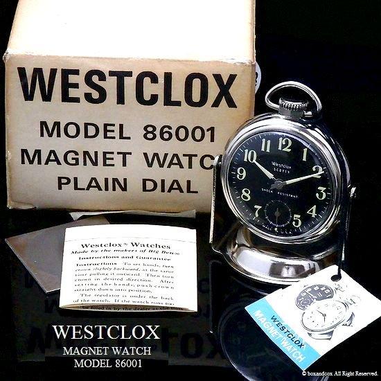 超貴重!1960 S Westclox Magnet Watch ウエストクロックス カークロック ギャランティー