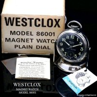 超貴重!1960's Westclox Magnet Watch/ウエストクロックス カークロック  ギャランティー・BOX付 デッドストック
