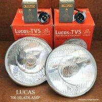 LUCAS 700 HEADLAMP 松明 たいまつ ヘッドライト&BPFハロゲンバルブ・ホルダーSET