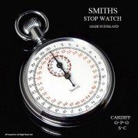 極初期 1950-60年代 SMITHS/スミス STOP WATCH スミス ストップウォッチ 旧ロゴ 刻印入り