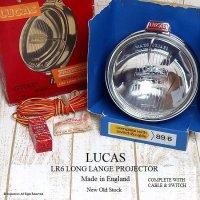 貴重!LUCAS LR6 LONG RANGE LAMP/スポットランプ デッドストック BOX