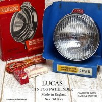 貴重!LUCAS FT6 FOG LAMP/フォグランプ デッドストック BOX