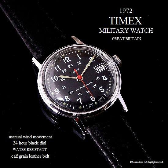 1972年 Vintage TIMEX MILITARY DATE/ ...