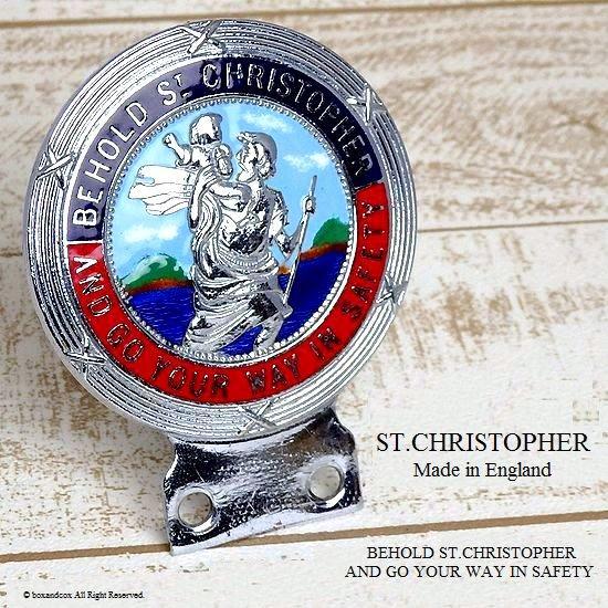 1960's セント・クリストファー ST.CHRISTOPHER カー バッジ