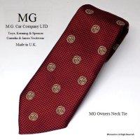 レア!MG OWNERS Neck Tie by Toye & Co./MG オーナーズ ネクタイ デッドストック
