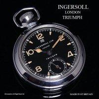 1950's INGERSOLL LONDON /インガーソル TRIUMPH トライアンフ 懐中時計 ミリタリー