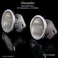 Alexander RAM PIPE/アレキサンダー ラムパイプ・ファンネル ショート ネット付 SU 1-1/4