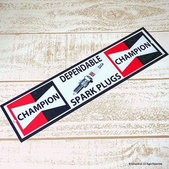 英国製 CHAMPION SPARK PLUGS/チャンピ...
