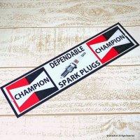 英国製 CHAMPION SPARK PLUGS/チャンピオン プラグ アンティーク ティン・サインプレート 看板