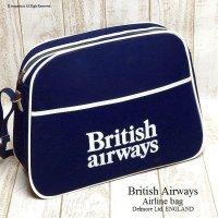 1970's 初期 British Airways Airline bag shoulder NOS/エアライン ショルダーバッグ デッドストック未使用