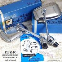 当時物 DESMO168 BOOBERANG WING MIRROR ウイングミラー デッドストック 箱入り ミントコンディション