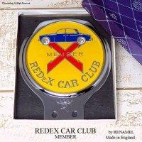 貴重!1960's REDEX CAR CLUB/レデックス カークラブ メンバーズカーバッジ デッドストック RENAMEL箱入り