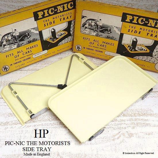 50-60's 英国 HP PICNIC Car Tray/カートレイ 箱入り A・B