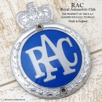 <img class='new_mark_img1' src='//img.shop-pro.jp/img/new/icons13.gif' style='border:none;display:inline;margin:0px;padding:0px;width:auto;' />1960's RAC-Royal Automobile Club- グリルバッジ フィティング付