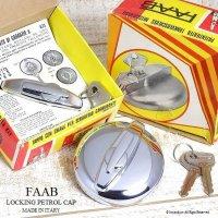 NOS FAAB LOCKING PETROL CAP for MINI/ガスキャップ MINI用 etc デッドストック BOX