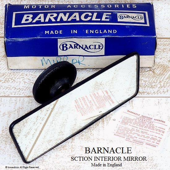 貴重!Barnacle Suction Interior Mirro...