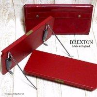 貴重!1950-60's 英国 BREXTON Car Tray/ブレクストン カートレイ 2枚セット 収納ケース付