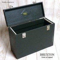 貴重!1950-60's 英国 BREXTON STORING BAG/ブレクストン 収納ボックス バッグ
