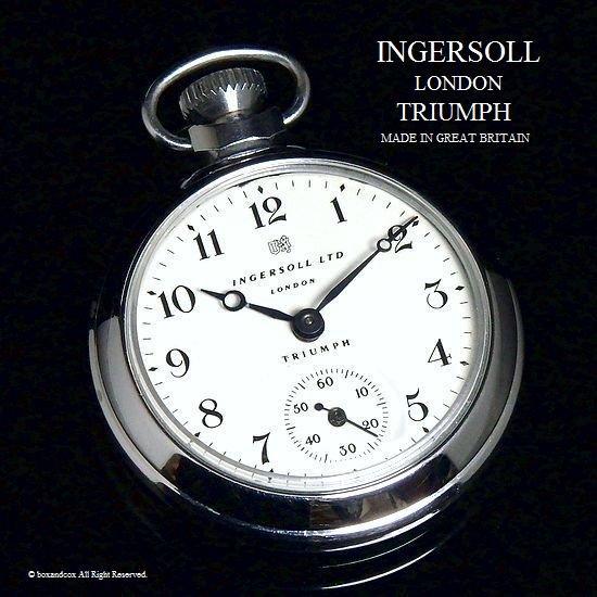 1960's INGERSOLL LONDON TRIUMPH /インガーソル  トライアンフ 懐中時計