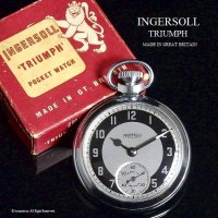 <img class='new_mark_img1' src='//img.shop-pro.jp/img/new/icons14.gif' style='border:none;display:inline;margin:0px;padding:0px;width:auto;' />1960's INGERSOLL TRIUMPH /インガーソル トライアンフ 懐中時計 オリジナルBOX付