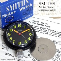 <img class='new_mark_img1' src='//img.shop-pro.jp/img/new/icons14.gif' style='border:none;display:inline;margin:0px;padding:0px;width:auto;' />SMITHS/スミス Motor Watch BK マグネット オリジナルBOX・説明書・プレート付属