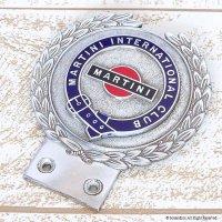 1960's MARTINI INTERNATIONAL CLUB/マルティニ カーバッジ J.R.GAUNT製