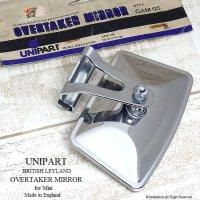 希少!UNIPART OVERTAKER MIRROR for Mini/レイランド純正 ユニパート オーバーテイカーミラー デッドストック ミニ用
