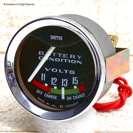Smiths Battery Condition Gauge スミス バッテリーコンディション 電圧計 デッド