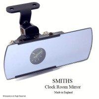 貴重!SMITHS CLOCK  INTERIOR MIRROR/スミス クロック インテリア ルームミラー 照明付 オーバーホール済