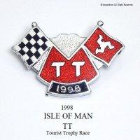 1998年 ISLE OF MAN TT レース フラッグピンバッジ デッドストック
