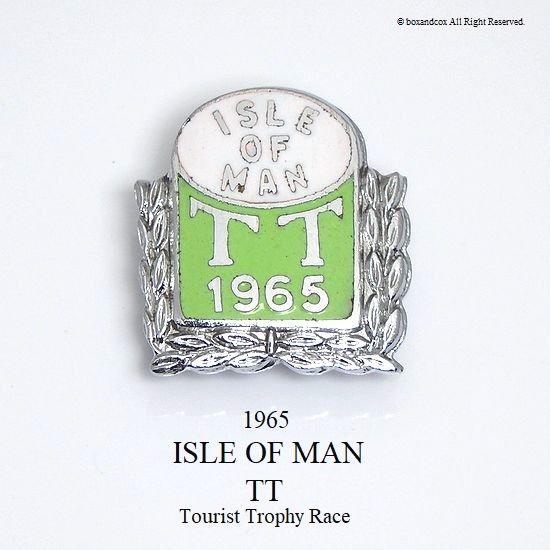 1965年 ISLE OF MAN TT レース ピンバッジ デッドストック