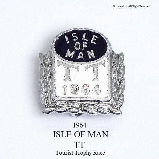 1964年 ISLE OF MAN TT レース ピンバッ...