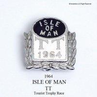 1964年 ISLE OF MAN TT レース ピンバッジ デッドストック